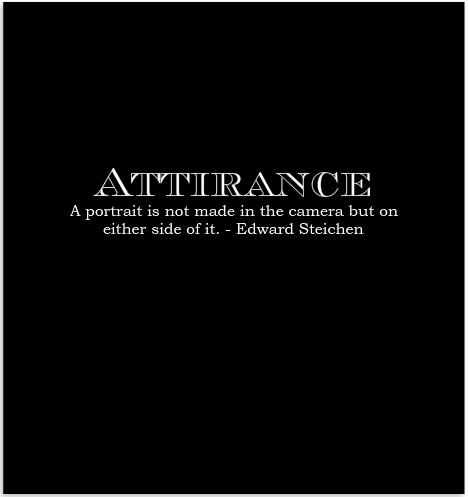 Attirance photography book