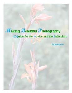 Making Beautiful Photography e-book